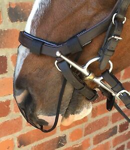 NOSE-NET-MUZZLE-NET-FOR-MICKLEM-HORSE-PONY-BRIDLE-FOR-HELP-WITH-HEADSHAKING