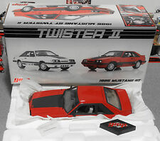 GMP 1985 Ford Mustang GT Red 1:18 Diecast Fox - Very Rare (Car & Box Only)