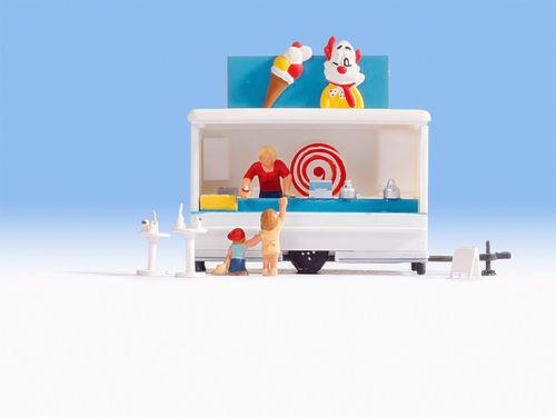 Eis-Verkaufswagen #NEU in OVP## NOCH 16732 Spur H0