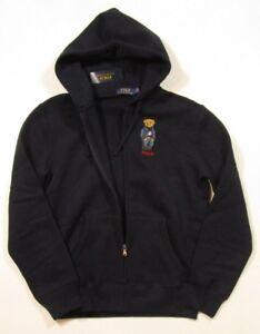 ca63e38a2 Polo Ralph Lauren Big   Tall Men s Navy Blue Polo Bear Fleece Full ...