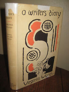 1st-Edition-A-WRITER-039-S-DIARY-Virginia-Woolf-FIRST-PRINTING-Classic-HOGARTH-1953