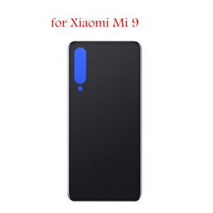 Per-Xiaomi-Mi-9-Cover-Copertina-Retro-Batteria-Copertura-Posteriore-Vetro-Nero