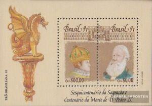 Brasilien Block87 (kompl.Ausg.) postfrisch 1991 Kaiser Pedro II.