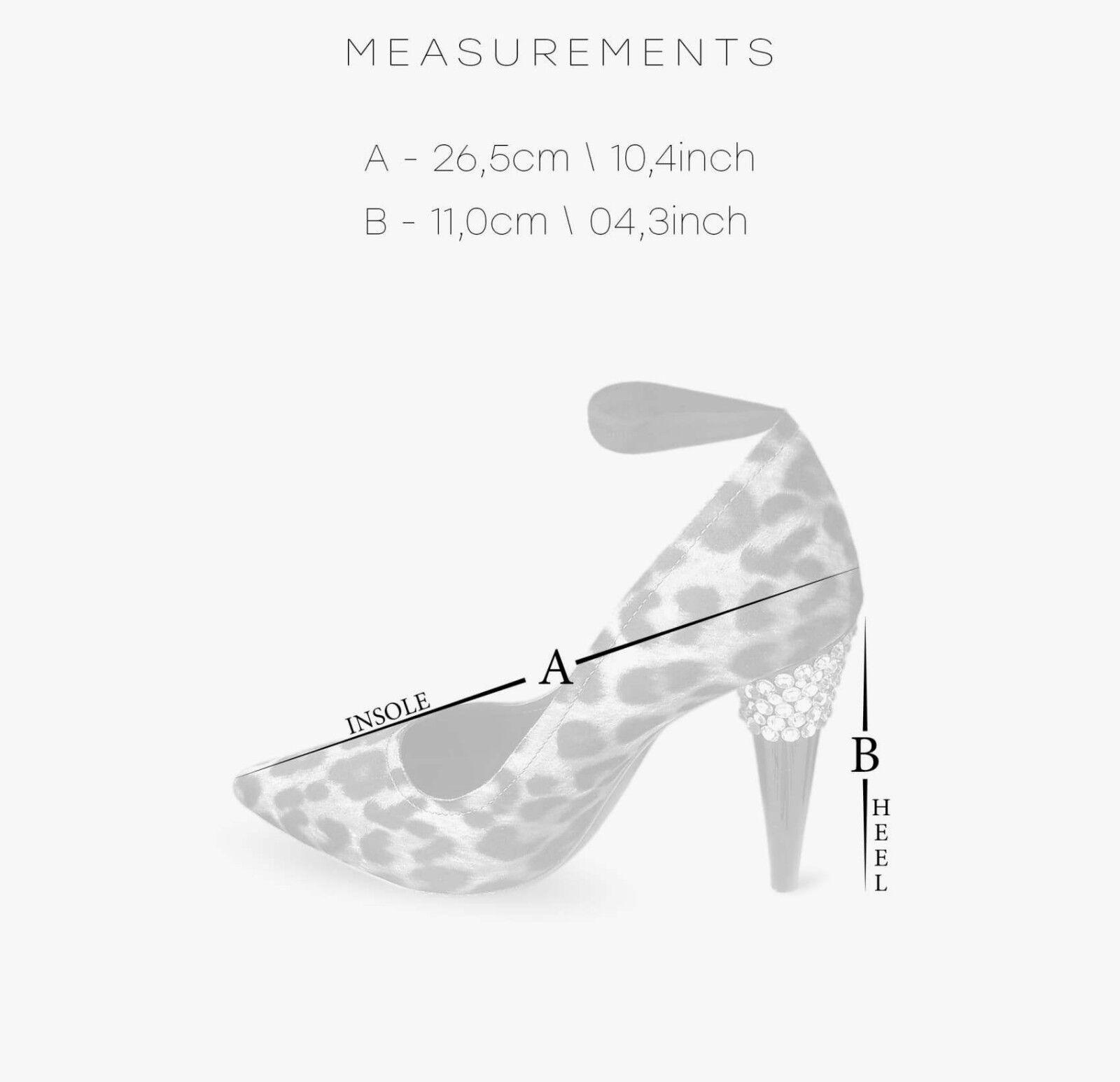 LANVIN for for LANVIN H&M Damens Leopard Pumps Größe 40 9 Leopard Heels Schuhes Stilettos 9 40 07be1b