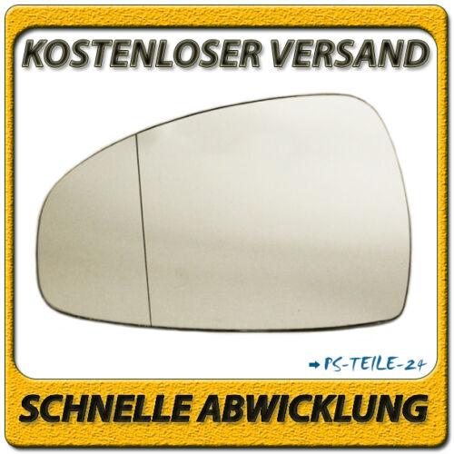 Außenspiegel Spiegelglas für AUDI TT 2006-2014 links Fahrerseite asphärisch