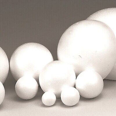 ASSORTED POLYSTYRENE BALLS IDEAL FOR A SOLAR SYSTEM