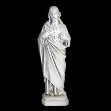 "Jesus Christ Sacred Heart Statue Sculpture Christian Catholic reproduction 16"""