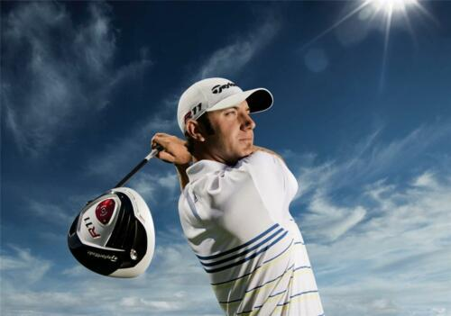 Dustin Johnson Golfer Giant 1 Piece  Wall Art Poster SP182
