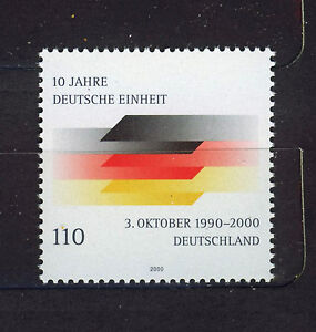 ALEMANIA-RFA-WEST-GERMANY-2000-MNH-SC-2102-Reunification