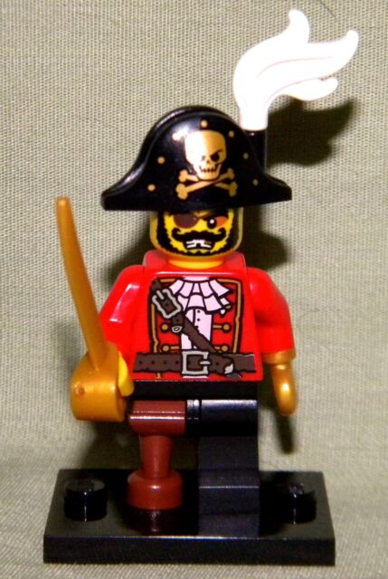 Lego PIRATE CAPTAIN Series 8 Mystery Packs Mini-Figure LOOSE Minifig