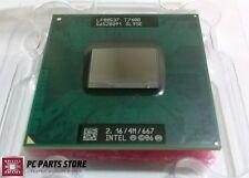 Intel Core 2 Duo T7400 2.16GHz/ 4MB/ 667MHz Processor CPU SL9SE LF80537 Socket M