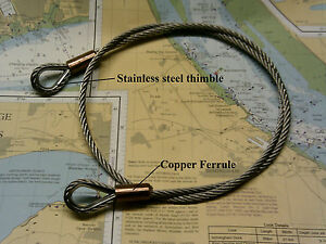 Wire-Strop-stainless-steel-7x19-wire-rope-all-sizes-amp-made-to-order-Security