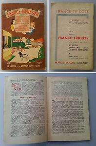FRANCE-MENAGER-n-4-1950-le-jardin-animaux-domestiques