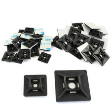 Self Adhesive Or Screw Cable Tie Mounts Clips For Cable Wire Conduit Tubing