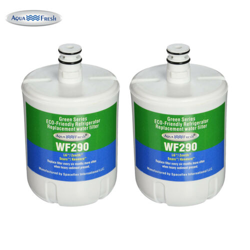 Aqua Fresh Refrigerator Water Filter for Kenmore ADQ72910902-2 Pack