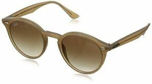 32c31c067ce Ray-Ban RB2180 Women s Sunglasses with Brown Gradient Lenses and Light  Brown Frame