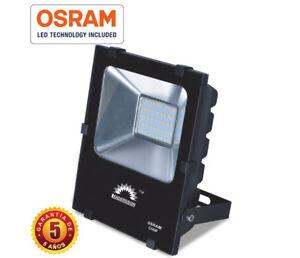 Proyector Foco LED de exterior 50W, 6000Lm Chip OSRAM LED26 garantía 5 años