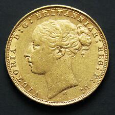 Souverain or Victoria jeune années variées sovereign gold coin random years