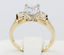 2-Ct-14K-Real-Yellow-Gold-Round-3-Stones-Wedding-Engagement-Propose-Promise-Ring thumbnail 8