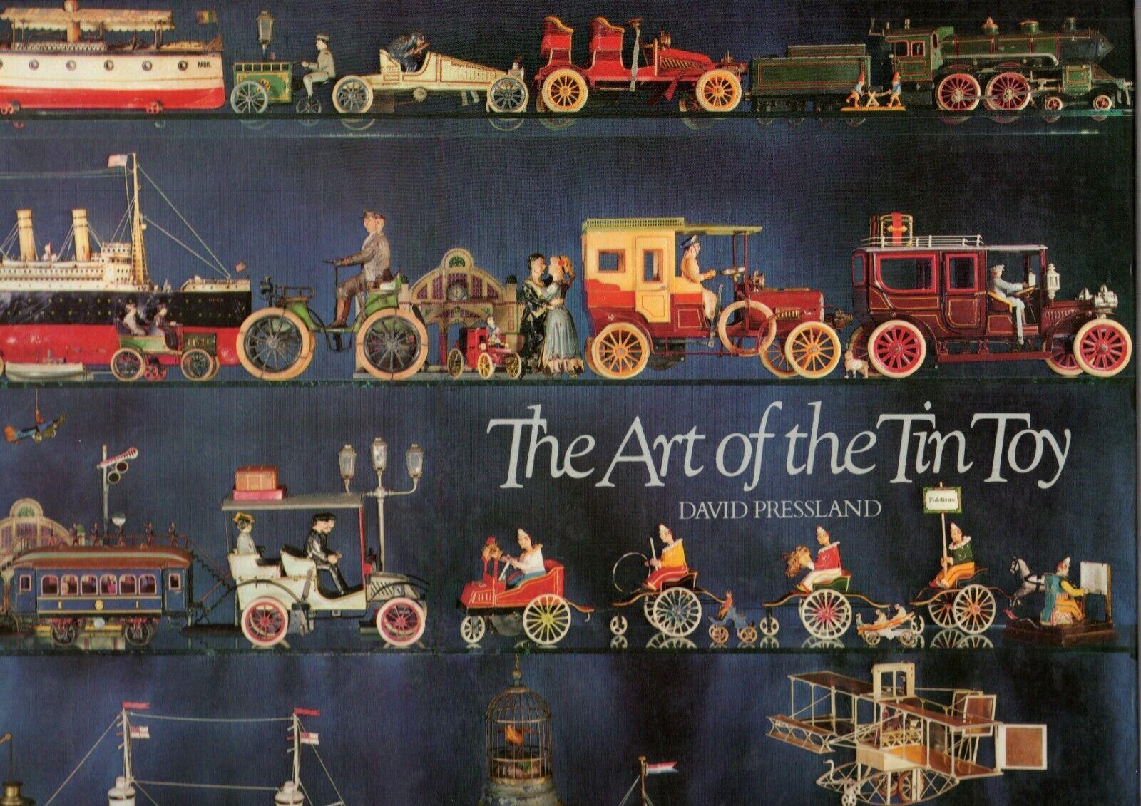 Book book the art of the tin  toy david pressland nouveau cavendish books london  point de vente