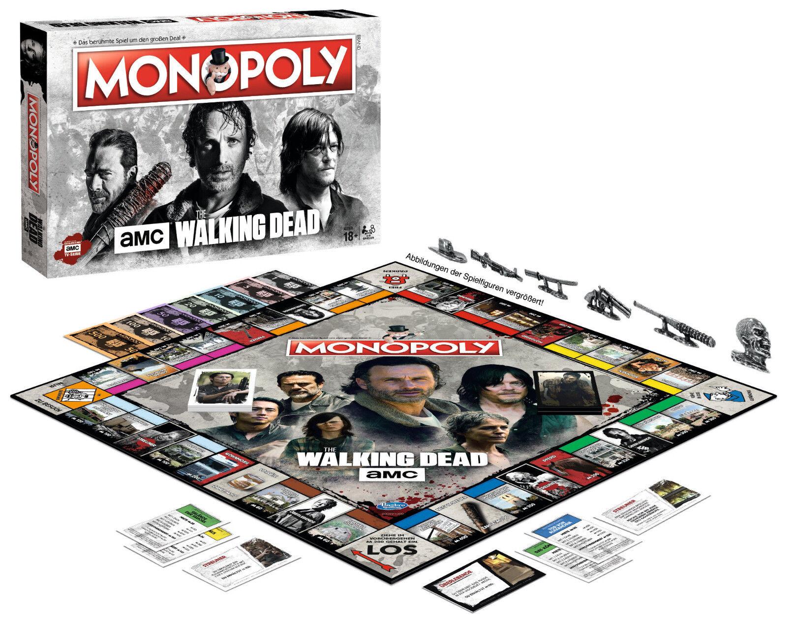 MONOPOLY - THE WALKING DEAD AMC AMC AMC - Winning Moves 45359 - NEU 241ffd