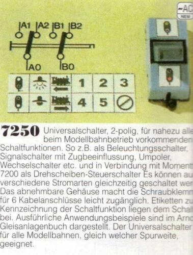 *** 7250 Arnold Universalschalter ***
