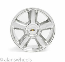 "NEW Chevy Silverado Tahoe Suburban Avalanche LTZ 20"" Polished Wheels Rims 5308PA"