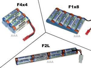 Akkupack Panasonic HR AAA 9.6V1000 mAh, mehrere Optionen zur Auswahl ...