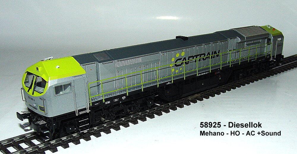 Mehano 58925 - dieselelektrische Locomotiva Blu TIGER 2 DE-AC33C der TX LOGIS