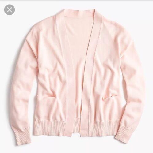 Sz jersey Nouveau en Blossom ouvert M devant H9542 Rose Cardigan wwFq0T