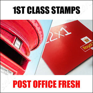 Details about 12 x 1st CLASS Stamps NEW Royal Mail Postage Stamp First Book  Sheet UK FAST POST