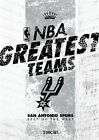 NBA - Greatest Teams - San Antonio Spurs - Best Of The West (DVD, 2014, 2-Disc Set)