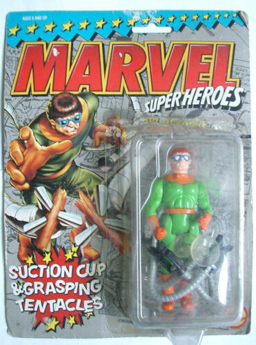 MARVEL SUPER HEROES DR. OCTOPUS giocattolo BIZ 1994 MOC