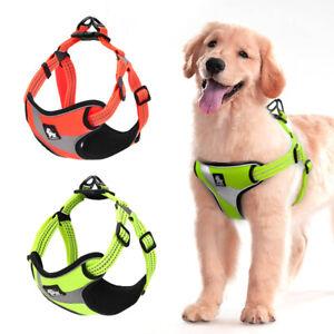 Reflective-Truelove-Dog-Vest-Harness-for-Small-Medium-Large-Dogs-Green-Orange