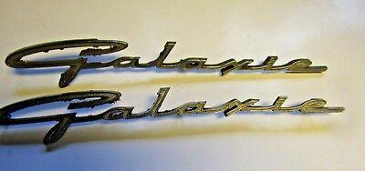 63 Galaxie 500 Fender Emblems 1963