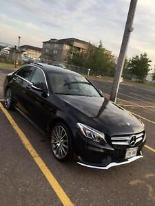 Mercedes C400 AMG Line - Red interior - Extended warranty