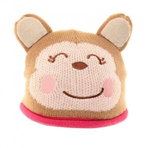 04bb0e4d102 Babies Novelty Animals Fleece Insulated Beanie Winter Warm Comfy Hats by  Jiglz Pink Kitten for sale online