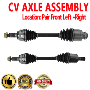 BuyAutoParts 90-905902D NEW Pair Front CV Axle Shaft For Mazda CX ...