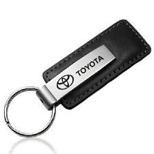 Toyota Leather Metal Keychain - Corolla Yaris Camry RAV4 Tacoma Tundra Prius
