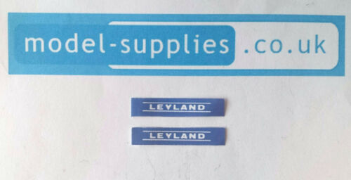 Dinky 308 Leyland Tractor Reproduction Stickers Set 300//2