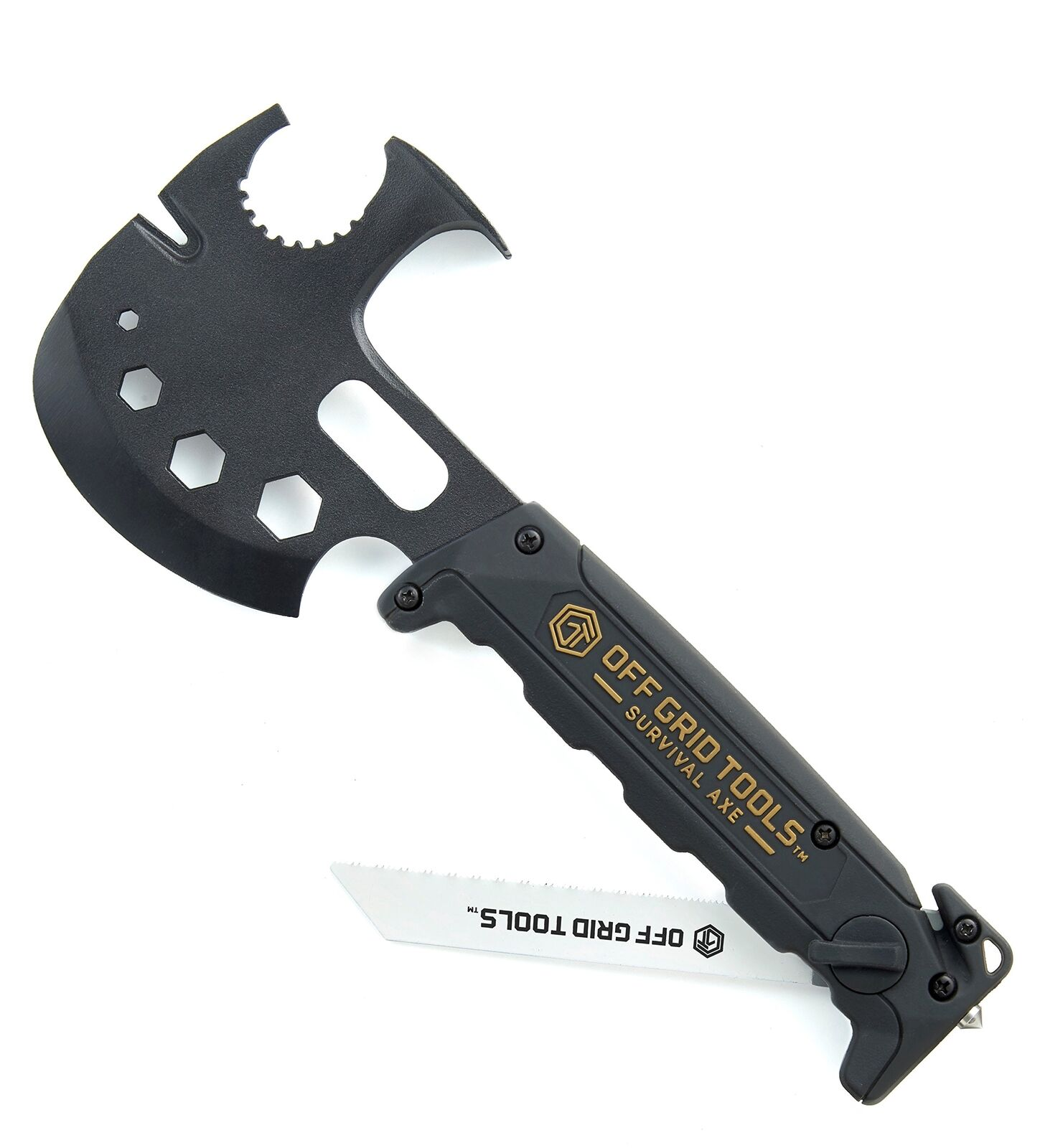 Off Grid Tactical Survival Axe Elite Tools Hatchet Blade Hammer Claw