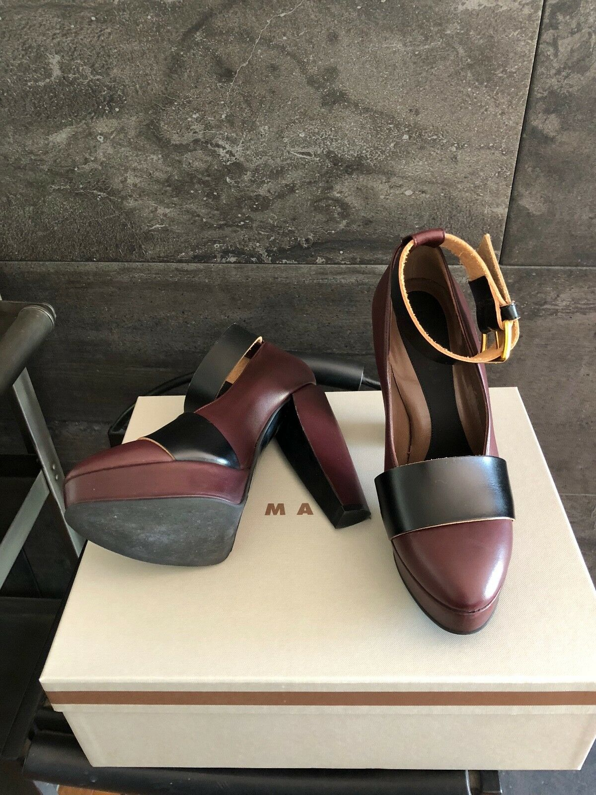 Marni blown ankle strap made 5