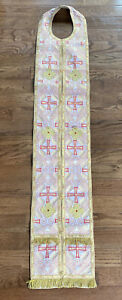 High-Quality-Greek-Orthodox-Stole-Clergy-Epitrachelion-Vestment
