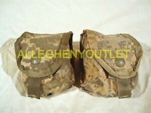 Lot of 5 Hand Grenade Pouch ACU Molle II NSN 8465-01-525-0589