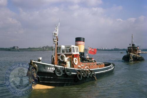 Tug KUNDAH Built 1939 By Richards Lowestoft On The Thames 10x15 6X4 Photograph
