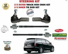 FOR MITSUBISHI GRANDIS 2003--> 2X OUTER & 2X INNER STEERING TRACK TIE ROD END