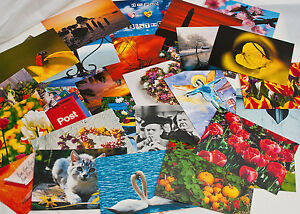 Postkartenset teilweise B-Ware SALE Aktion 50 Postkarten