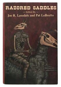 Lansdale-LoBrutto-editors-Razored-Saddles-DARK-HARVEST-FIRST-EDITION