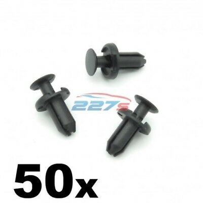 identical to TOYOTA 90467-05170 50x Small Plastic Rivets for a 5 mm Hole