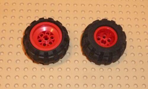 TW6 LEGO RED x 2 6580c01 WHEEL 43.2 x 28 Balloon Small